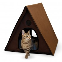 Outdoor Multiple Kitty A-Frame Unheated