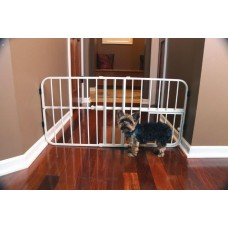 Mini Tuffy Expandable Gate with Small Pet Door