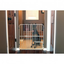 Big Tuffy Expandable Gate with Small Pet Door