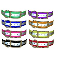 1 inch Universal Reflective Strap - Reflective Pink