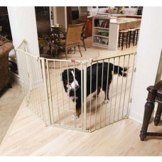 Flexi Extra-Tall Walk-Thru Gate with Pet Door