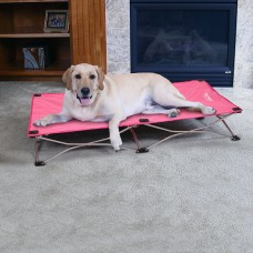 The Portable Pup - Large Pet Bed - Pink